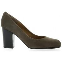 Chaussures Femme Escarpins Brenda Zaro Escarpins cuir velours Gris