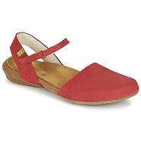 Schuhe Damen Sandalen / Sandaletten El Naturalista WAKATAUA Rot