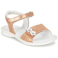 Schuhe Mädchen Sandalen / Sandaletten Mod'8 JANAH Goldfarben