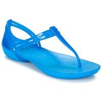 Schuhe Damen Sandalen / Sandaletten Crocs CROCS ISABELLA T-strap Blau