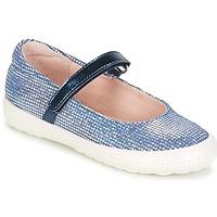 Schuhe Mädchen Ballerinas Acebo's SIULO Marineblau