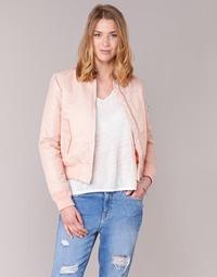 Kleidung Damen Jacken Schott BOMBER BY SCHOTT Rose