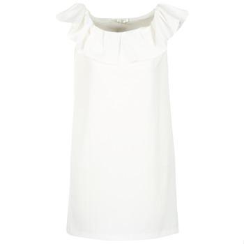 Abbigliamento Donna Abiti corti See U Soon 7123017 Bianco