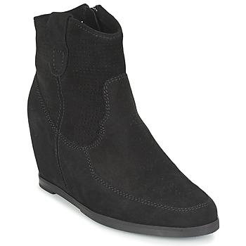 Schuhe Damen Low Boots Myma PERFONOIR Schwarz