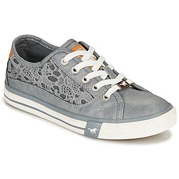 Schuhe Damen Sneaker Low Mustang RADIANTA Grau