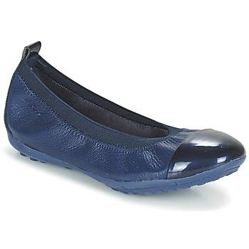Chaussures Fille Ballerines / babies Geox J PIUMA BALL B Marine
