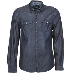 Vêtements Homme Chemises manches longues Energie VETTEL Bleu