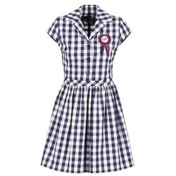 Vêtements Femme Robes courtes Love Moschino WVF3001 Bleu / Blanc