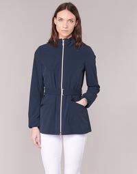 Abbigliamento Donna Giubbotti Geox TRIDE Marine