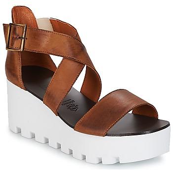 Schuhe Damen Sandalen / Sandaletten Sweet Lemon SUBWAY Braun,