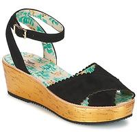 Chaussures Femme Sandales et Nu-pieds Miss L'Fire MARCIE Noir