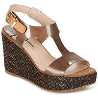 Schuhe Damen Sandalen / Sandaletten Spiral PAULA Braun,