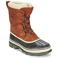Chaussures Homme Bottes de neige Sorel CARIBOU WL Tabac
