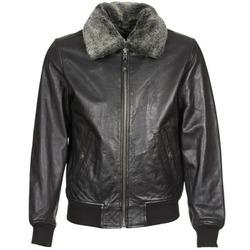 Vêtements Vestes en cuir / synthétiques Schott FELIATO Noir