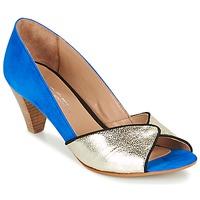 Chaussures Femme Escarpins Betty London GABYN Bleu / Doré