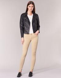 Kleidung Damen 5-Pocket-Hosen Noisy May EVE Beige