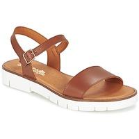 Schuhe Mädchen Sandalen / Sandaletten Citrouille et Compagnie GLAPOTTI Kamel