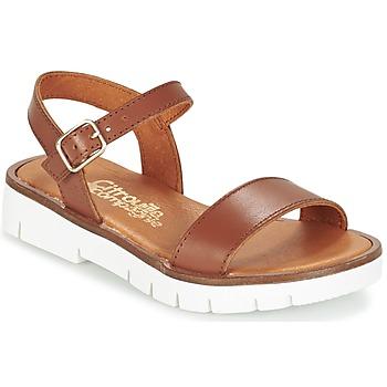 Schuhe Mädchen Sandalen / Sandaletten Citrouille et Compagnie GAPOTI Kamel