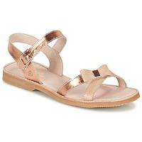 Schuhe Mädchen Sandalen / Sandaletten Citrouille et Compagnie JISCOTTE Bronze