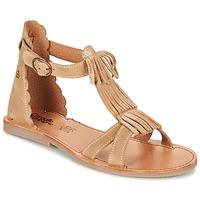 Scarpe Bambina Sandali Citrouille et Compagnie GAMELA Camel