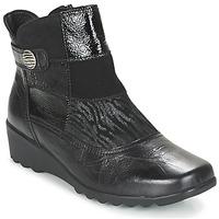 Chaussures Femme Bottines Romika Westland Carree 16 schwarz