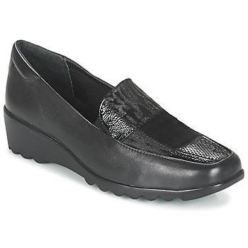 Chaussures Femme Mocassins Romika Westland Carree 17 schwarz