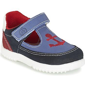 Schuhe Jungen Sandalen / Sandaletten Citrouille et Compagnie GANDAL Blau / Rot