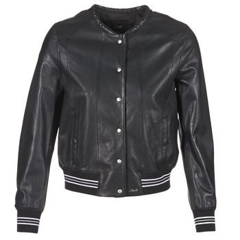 Vêtements Femme Vestes en cuir / synthétiques Oakwood 62298 Noir