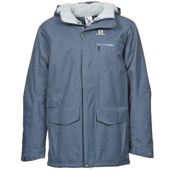 Vêtements Homme Parkas Salomon SKYLINE Bleu