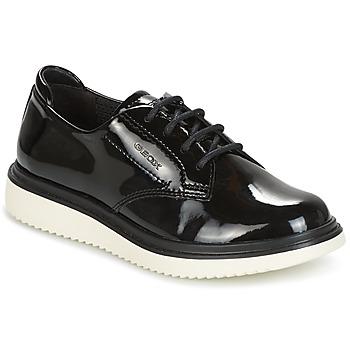Schuhe Mädchen Derby-Schuhe Geox J THYMAR G. B Schwarz