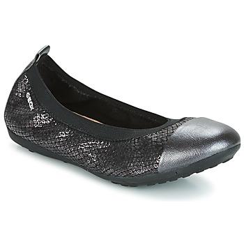 Chaussures Fille Ballerines / babies Geox J PIUMA BAL B Noir