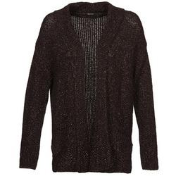 Abbigliamento Donna Gilet / Cardigan Kookaï BECCA Nero