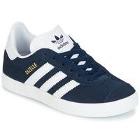 Schuhe Kinder Sneaker Low adidas Originals Gazelle C Marineblau