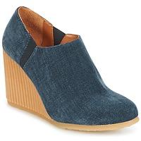 Schuhe Damen Ankle Boots Castaner VIENA Blau