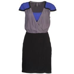 Abbigliamento Donna Abiti corti Naf Naf LYFAN Nero / Grigio / Blu