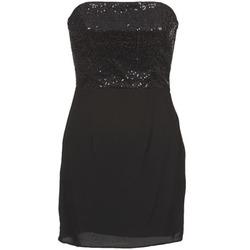 Vêtements Femme Robes courtes Naf Naf LYCHA Noir