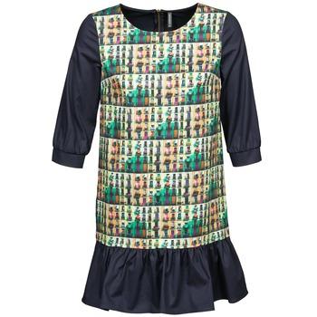 Kleidung Damen Kurze Kleider Naf Naf ECAPS Schwarz / Multifarben