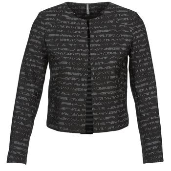 Abbigliamento Donna Giacche / Blazer Naf Naf LYMINIE Grigio / Nero