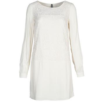 Vêtements Femme Robes courtes Naf Naf LYNO Ecru