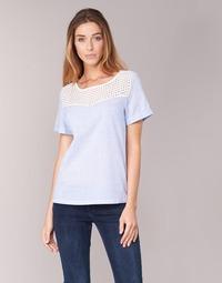 Abbigliamento Donna Top / Blusa Betty London GERMA Bianco / Blu