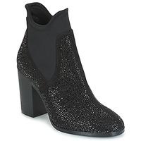 Chaussures Femme Bottines Café Noir JORDE Noir