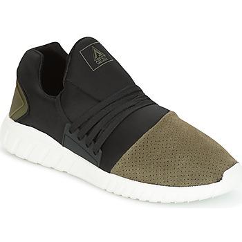 Chaussures Homme Baskets basses Asfvlt AREA LOW Noir / Kaki