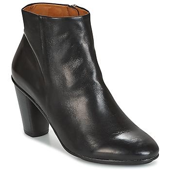 Schuhe Damen Low Boots n.d.c. AURORA ZIP Schwarz