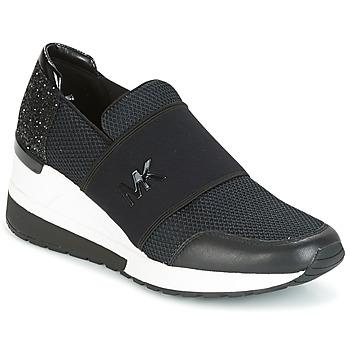 Chaussures Femme Baskets basses MICHAEL Michael Kors FELIX TRAINER Noir