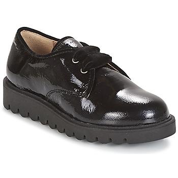 Chaussures Fille Derbies Unisa MICK Noir