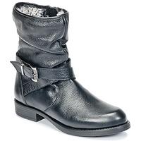 Chaussures Fille Boots Unisa GADIN Noir
