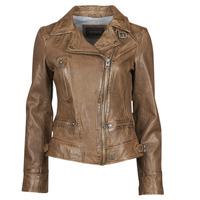 Vêtements Femme Vestes en cuir / synthétiques Oakwood VIDEO Cognac