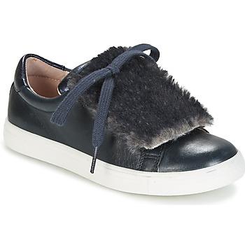 Schuhe Mädchen Sneaker Low Acebo's ALBA Marineblau