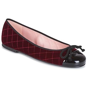 Schuhe Damen Low Boots Pretty Ballerinas  Bordeaux