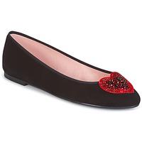 Schuhe Damen Low Boots Pretty Ballerinas  Schwarz